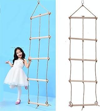 L&L La Escalada para niños, de Gran tamaño, de 5 escaleras de ...
