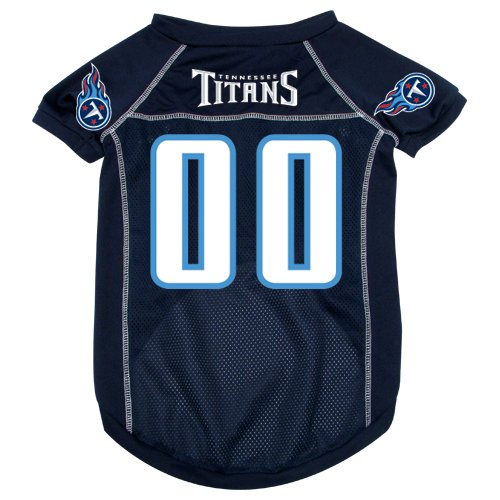 Tennessee Titans Pet Dog Football Jersey MEDIUM
