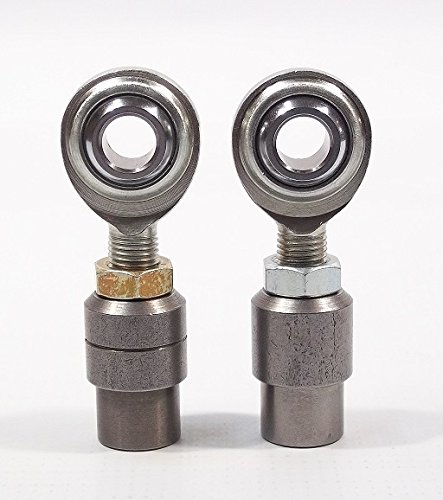 End Heim Joint Link Ball - QSC 3/8 X 3/8-24 Economy Panhard Bar Kit with Bung .058, Rod End, Heim Joint