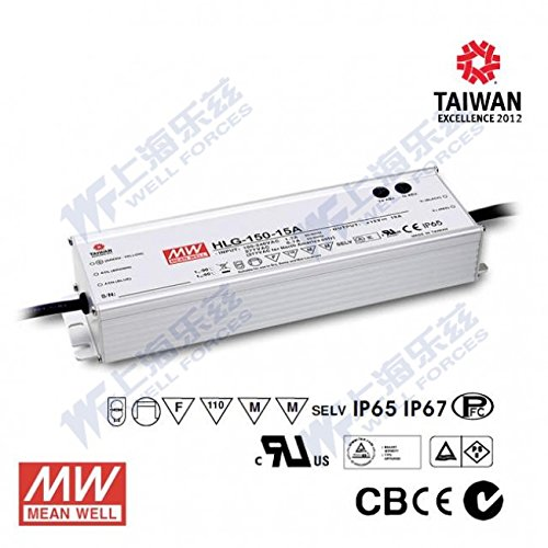Meanwell HLG-150H-48A Power Supply - 150W 48V 3.2A - IP65 - Adjustable Output