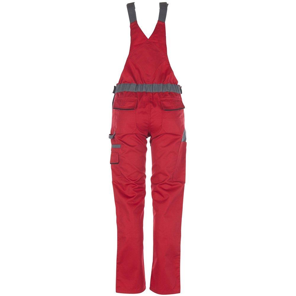 Planam salopette Donna Highline Rosso//ardesia//nero//multicolore 2392038 taglia 38