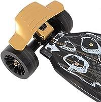 Oxelo 1499241 - Patinete de 4 ruedas (manillar con ángulo de ...