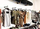 DIY CARTEL Industrial Pipe Wall Mount Clothing