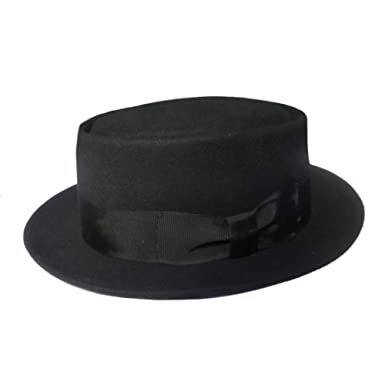 Denton Pork Pie Hat. Wool Retro Buster Keaton Style Black Grey Brown Maroon  at Amazon Men s Clothing store  4f880962249