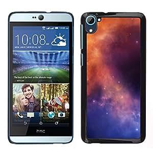 YiPhone /// Prima de resorte delgada de la cubierta del caso de Shell Armor - Galaxy Colores - HTC Desire D826