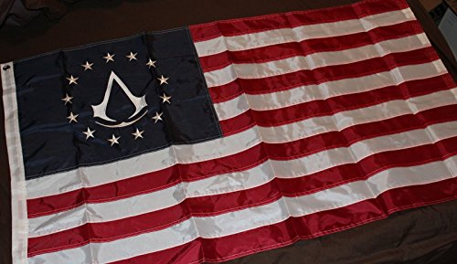 Assassin's Creed 3 III Colonial Flag Limited Collector's Edi