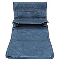 Rolling Tobacco Pouch/Case For Rolling Cigarette (Black)