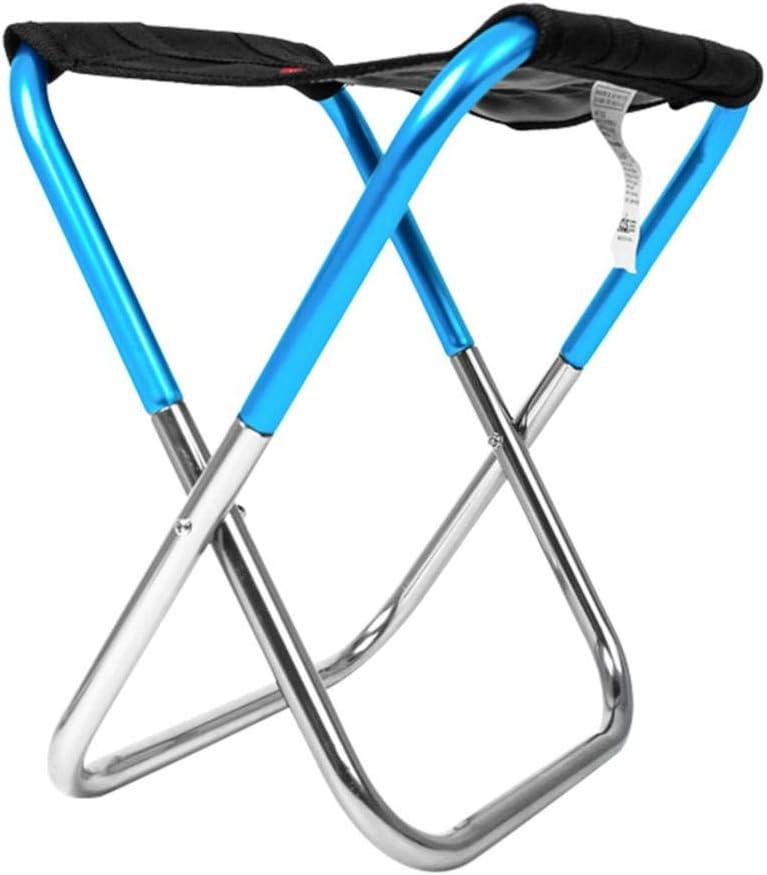 camping pesca sillas plegables de camping port/átiles de aleaci/ón de aluminio para barbacoa viajes playa senderismo Taburete plegable de camping de l/ï Vestmon jard/ín