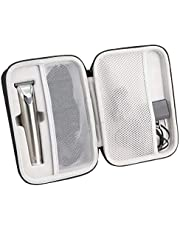 Khanka Hard Travel Case Replacement for Wahl Clipper Stainless Steel Lithium Ion Plus Beard Trimmer Hair Clippers Shavers 9818