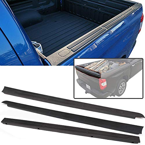 Tailgate Cap + Side Trim Panel Fits 14-19 Toyota Tundra | Factory Style Unpainted PP 5.5 Ft Bed Only by IKON -