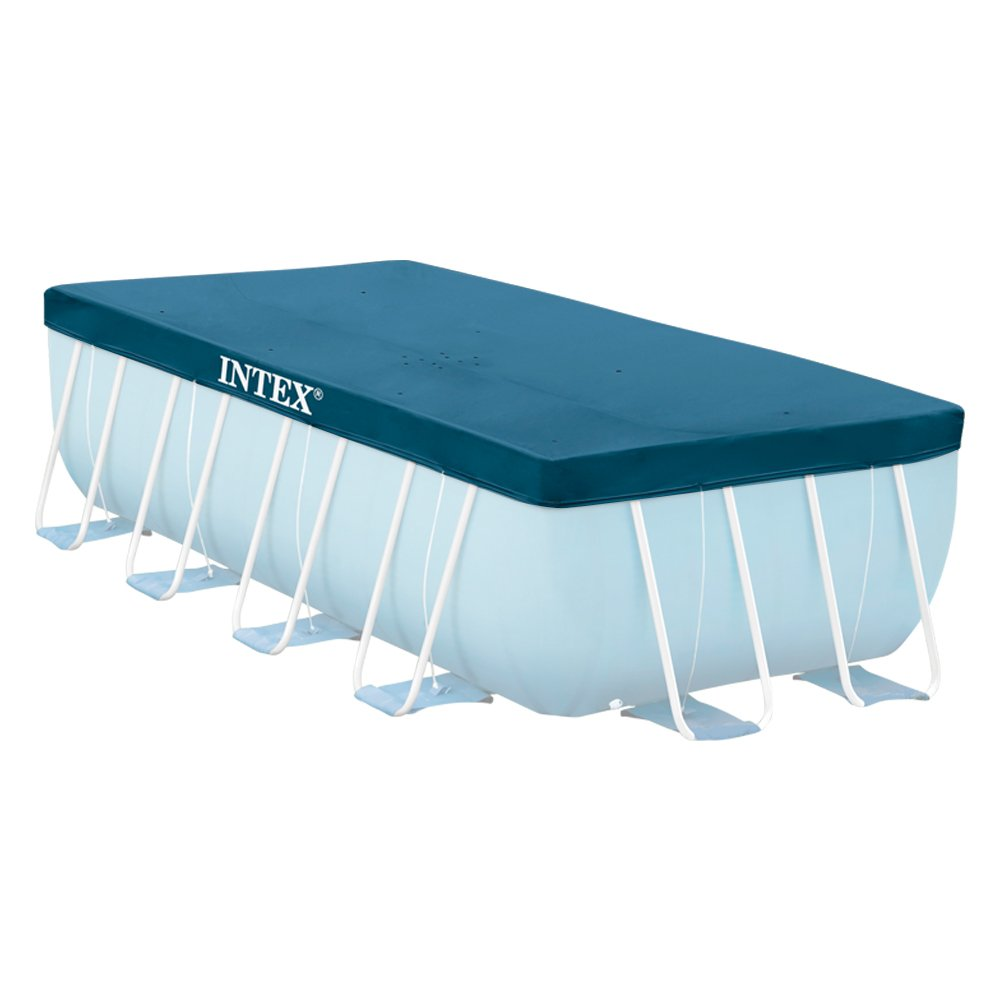 Intex 28038 B/âche pour Piscine Bleu 3.00 x 2.00 x 0.75 m