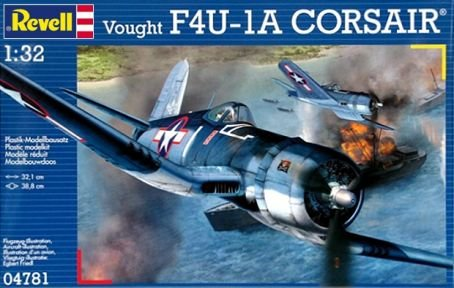 Revell Germany Vought F4U-1A Corsair Plastic Model Kit (1/32 Scale)
