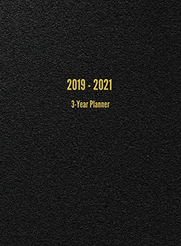2019 - 2021 3-Year Planner: 36-Month Calendar (Black) by I. S. Anderson (Image #1)