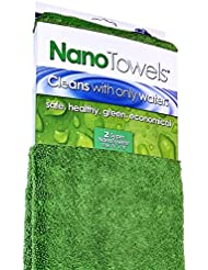 Nano Towels Supersized Version The Breakthrough Fabric That Replaces Paper Towels And Toxic Chemical Cleaners Use As Bath Towels Kitchen Towels Etc