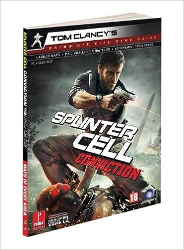Strategy guide tom clancy's splinter cell conviction | ebay.
