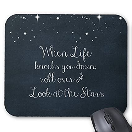 Amazon.com : Inspirational Quote: When Life Knocks you Down ...