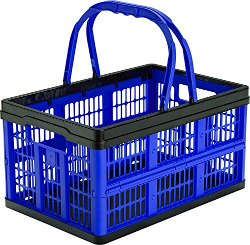 CleverMade CleverCrates Shopping Basket Grocery
