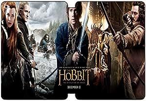 [PU del tirón del cuero] iPad Air 2 funda, iPad Air 2 Case, [Tema: El Hobbit] - AJ8446