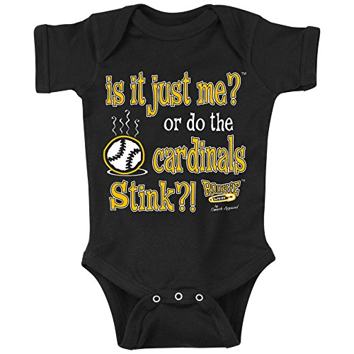 Smack Apparel Pittsburgh Pirates Fans. is It Just Me?! Onesie or Toddler Tee (NB-4T) (6 Month)
