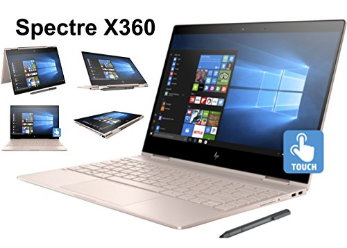 HP Spectre x360 13t Ultra Light Convertible 2-in-1 Laptop/Tablet (Intel 8th gen Quad Core Processor, 16GB RAM, 512GB SSD, 13.3