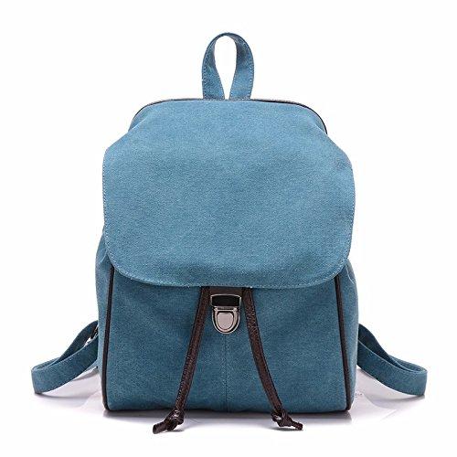 Mszyz Woman Bags, Cloth Bags, Shoulders, Mini Backpacks, Bags Cute Little Fresh Shoulder, Blue