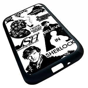 Generic Sherlock Cell Phone Case (Samsung Galaxy S4 i9500 (Black)