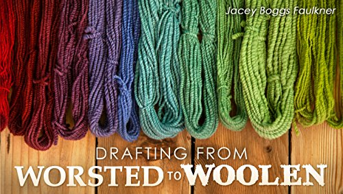 Worsted Fiber - Drafting From Worsted to Woolen