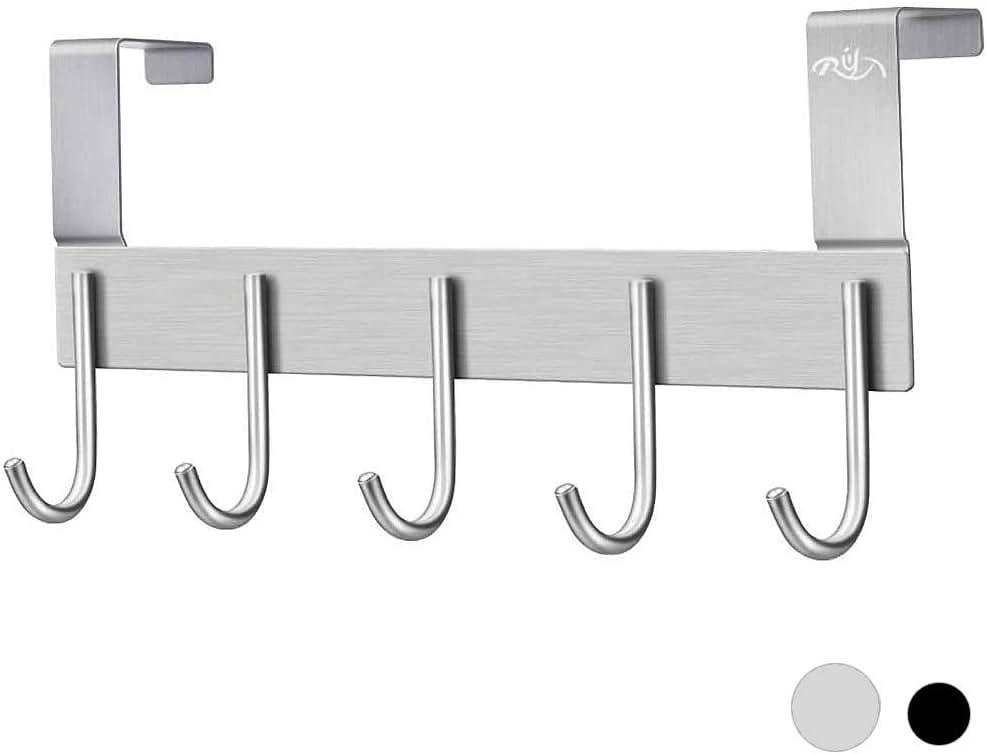 Over the Door Coat Hanging Hook Hooks Holder Wall Rack Tie Bathroom Towel Hanger