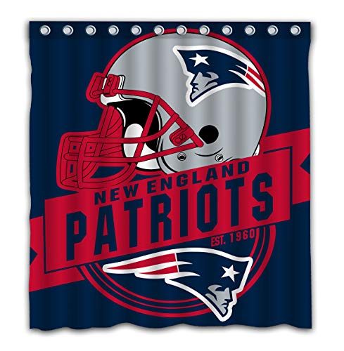 Patriots Shower Curtain New England Patriots Shower