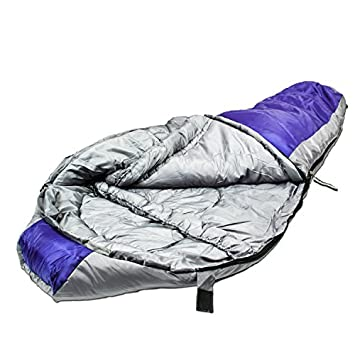 Northstar Tactical Coretech Mummy, Multi Layer Core Sleeping Bag, with Camping Compression Stuff Storage Bag