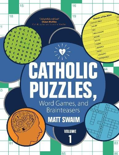 Catholic Activity - 1: Catholic Puzzles, Word Games, and Brainteasers