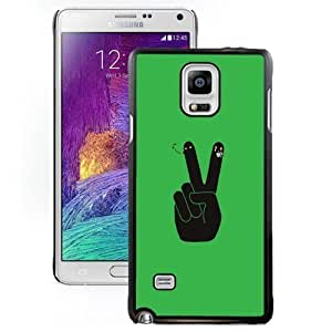 New Personalized Custom Designed For SamSung Galaxy S4 Mini Case Cover For Cartoon V Sign Phone