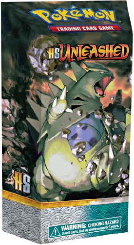Pokemon Legends Card Game Unleashed (HS2) Theme Deck Chaos Control Tyranitar