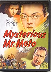 Amazon Com Mysterious Mr Moto Region One Usa Dvd