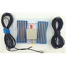 Usmile LW1650 Portable Long Line shortwave antenna shortwave radio antenna for RTL SDR receiver shortwave radio stations