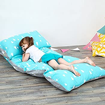 Amazon.com: Nancyus005 Kids Floor Pillow Case and Lounger Seats ...