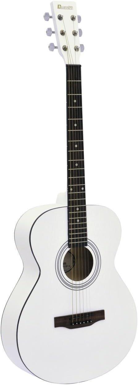 Guitarra Western LUKE con funda para guitarras, blanca - Guitarra ...