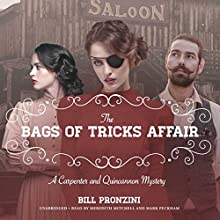 The Bags of Tricks Affair Audiobook by Bill Pronzini Narrated by Meredith Mitchell, Mark Peckham