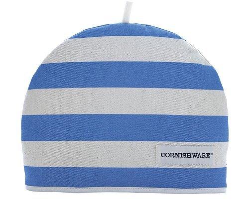 Cornishware Blue and White Stripe Cotton Tea Cosy 7CNH04