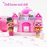 Winkey Toy for 1 2 3 4 5 6 7 8 9 Years Old Kids Girls Boys, Big Pretend Play Princess Doll House Castle Toy Big Family House For Surprise Dolls