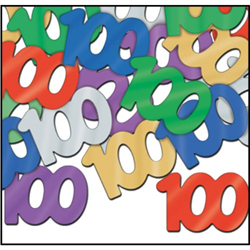 Fanci-Fetti 100 Silhouettes (multi-color) Party Accessory  (1 count) (.5 Oz/Pkg) -