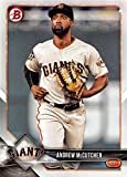 2018 Bowman #68 Andrew McCutchen San Francisco Giants Baseball Card