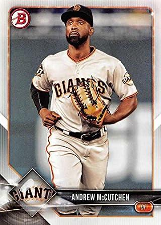 competitive price 8709e 67df0 Amazon.com: Baseball MLB 2018 Bowman #68 Andrew McCutchen ...