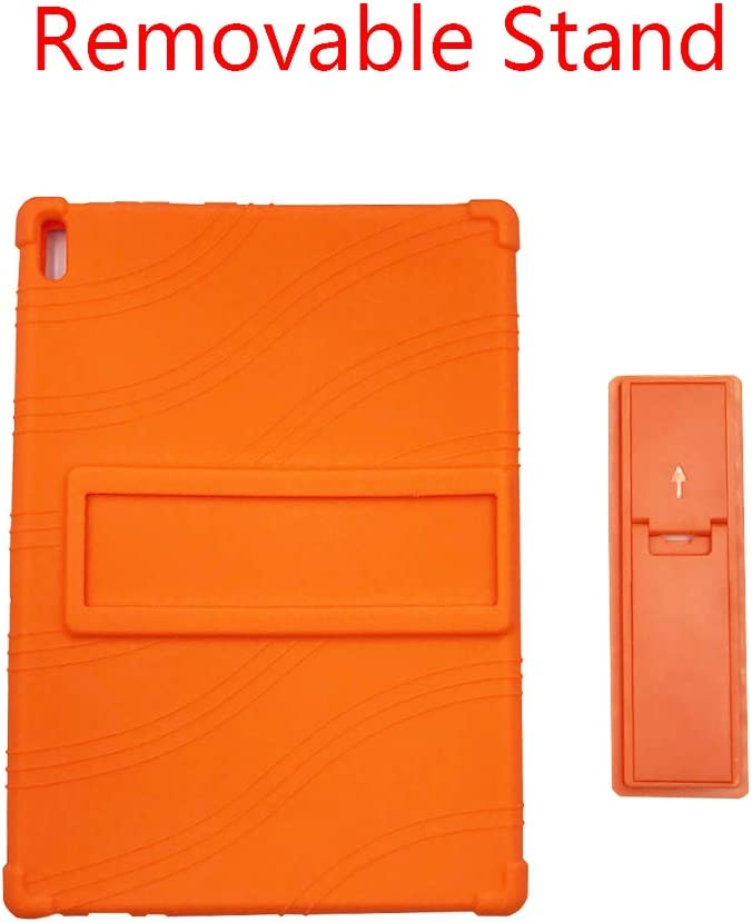 M10 X605 Stand Soft Silicone Pouch Shockproof Rubber Shell Protective Cover for Lenovo Tab // 10.1 inch Tablet ORANXIN Case for Lenovo Tab P10 M10 P10 TB-X705F