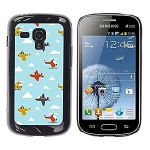 Dragon Case - FOR Samsung Galaxy S Duos S7562 - continue to hurt you. - Caja protectora de pl??stico duro de la cubierta Dise?¡Ào Slim Fit