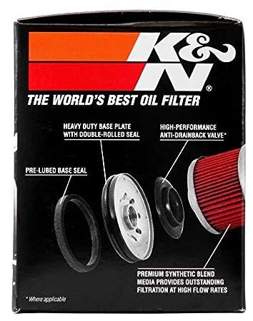 /Ölfilter K/&N KN303 f/ür Yamaha FZ6 600 S Fazer