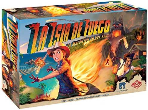 Asmodée-La Isla de Fuego: La Maldición de Vul-Kar, Color ...