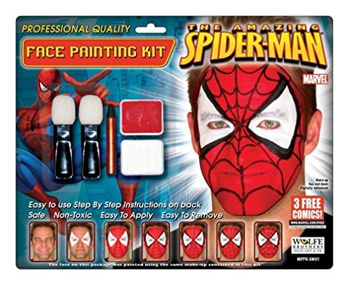 Spiderman Makeup Kit Wolfe Bro by Wolfe Brothers -