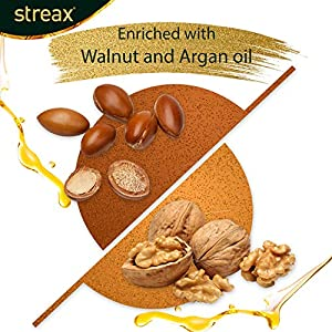 Streax Cream Hair Colour for Women & Men | Golden Blonde | Enriched with Walnut & Argan Oil | Instant Shine & Smoothness…