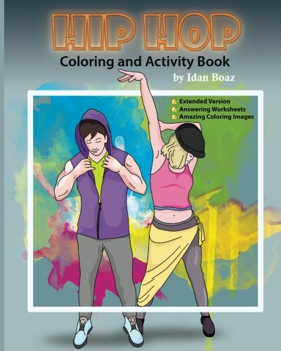 Amazon com: Hip Hop: Coloring & Activity Book (Extended) (Body